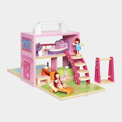 Dollhouse Box Set: Ideal For The Portable Play Therapist.