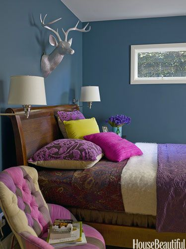 253 best images about combo of blue purple interior for Deep space benjamin moore