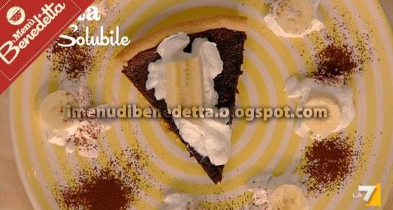 Torta Solubile all'Ovomaltina e Banane di Benedetta Parodi