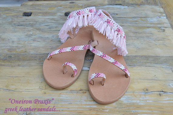 Bridal SandalsMargaritaLeather SandalsDecorated