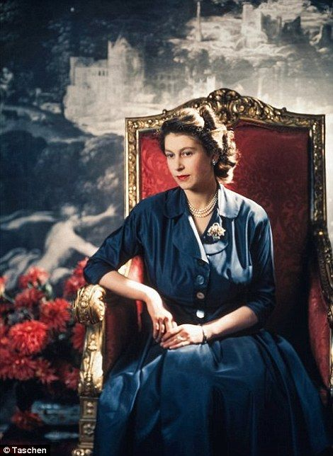Queen Elizabeth looks rather somber in an official portrait    Read more: http://www.dailymail.co.uk/news/article-2241857/Smiling-drives-children-The-rare-touchingly-intimate-photographs-showing-Queens-softer-side.html#ixzz2DxmMK9P8  Follow us: @MailOnline on Twitter | DailyMail on Facebook