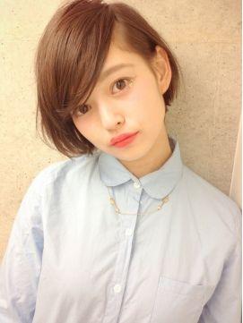 シマ 吉祥寺店 SHIMA|ヘアスタイル:【SHIMA】natural short bob☆|ホットペッパービューティー