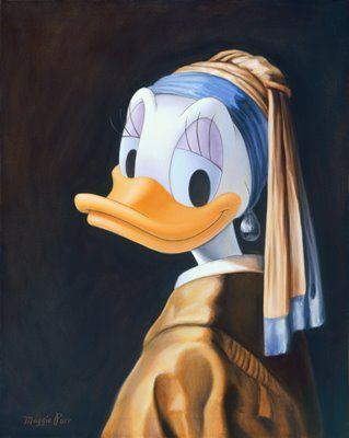 Daisy with a Pearl Earring