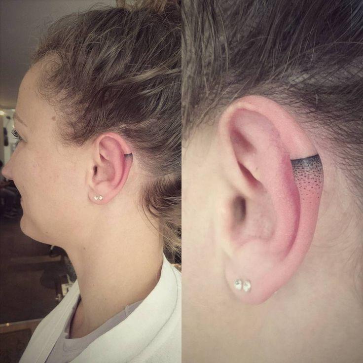 Nouvelle tendance à la conquête de Instagram: tatouages en hélice sur l'oreille – Ratio – # conquiert #Ear …