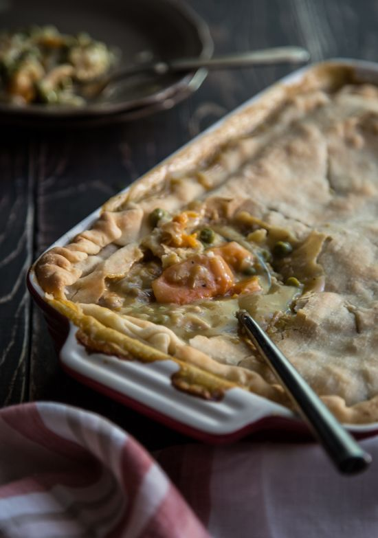 autumn chicken pot pie - Jelly Toast This is my husbands 'favorite dish I make' but in reality bethel used to make it. haha