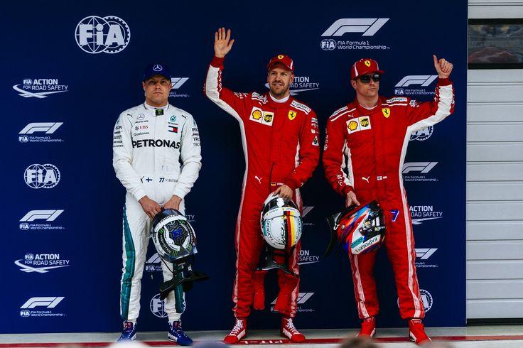 F1 Cina 2018: Vettel dopo Pole 'oggi Macchina grandiosa'