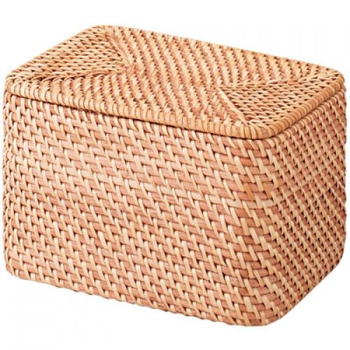 Rattan Stackable Box L
