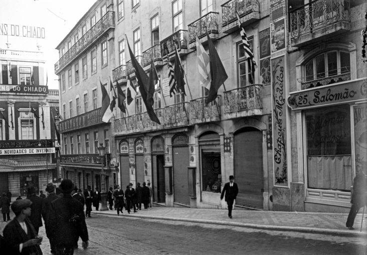 Rua Garrett, 1910