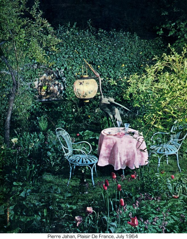 Moonlit Garden, I Really Want Those Chairs.