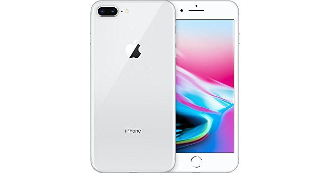 Apple iPhone 8 Plus 64 GB AT&T, Silver, Locked to AT&T