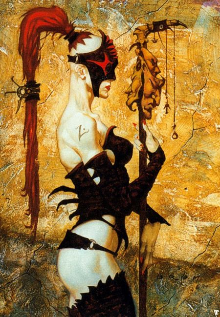 Gerald Brom - Heavy Metal Artwork