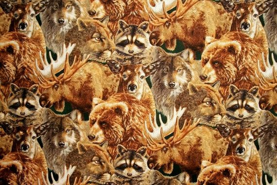 Robert Kaufman Fabric Wilderness Ridge by NeedlesnPinsStichery