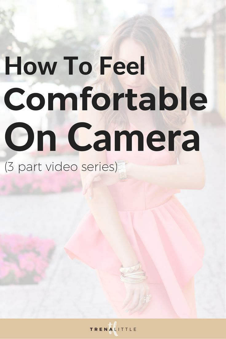 Video content can really leverage your business but fear is holding you back.  In this 3 part video series I'm giving you tips and tricks for how to build your confidence and feel comfortable on camera.