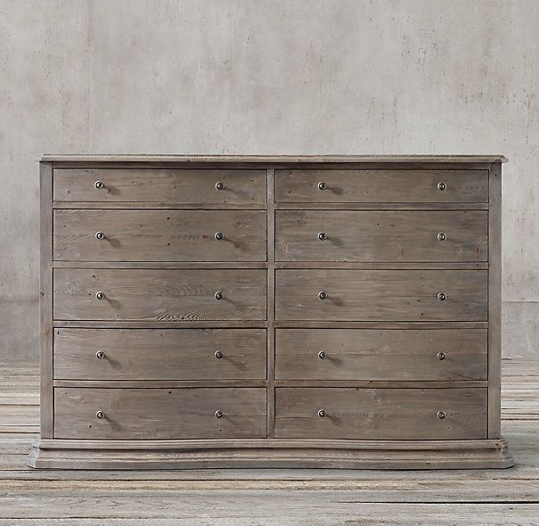 Serpentine Salvaged 10 Drawer Large Dresser Decisions.. Decisions.. For  Master Bedrm