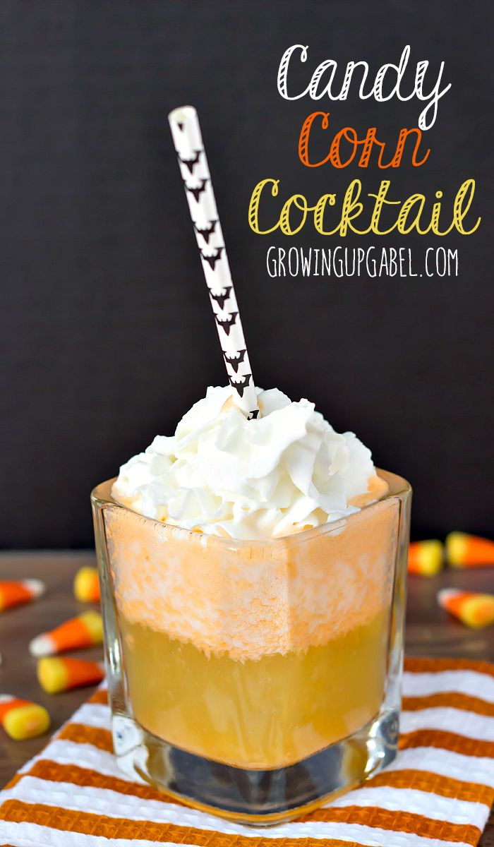 candy corn cocktails are part cocktail part dessert theyre delicious and a - Great Halloween Drinks