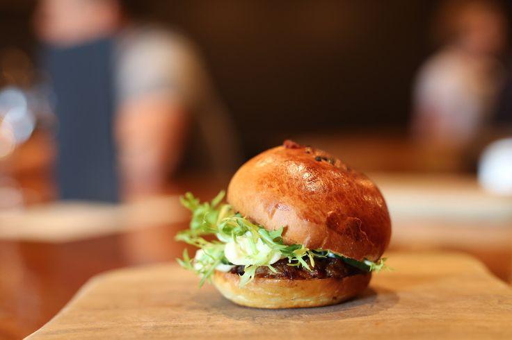 Pork bun, Press Food and Wine, Waymouth Street, Adelaide