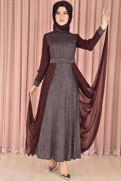 bfccc8d68febb Modamerve Şık ve Modern Tesettür Abiye Elbise Modelleri | Tesettür ...