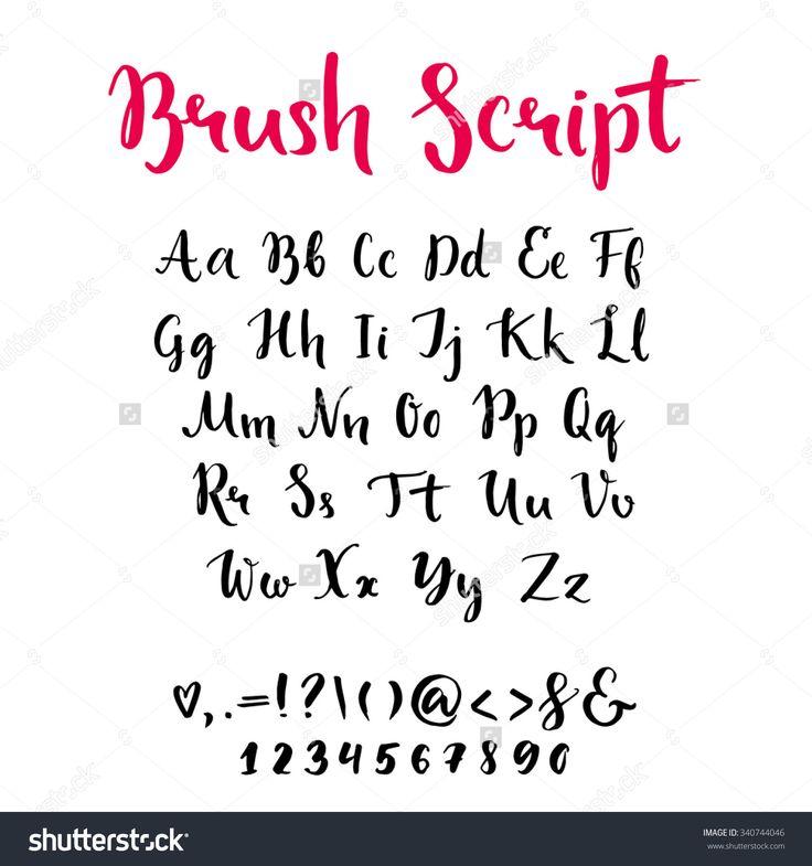 Best lettering images on pinterest hand type