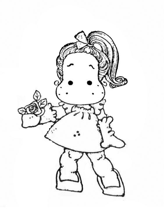 magnolia stamps coloring pages - photo#46