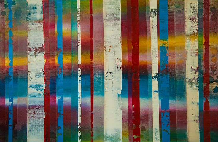 "no.5  - 36"" x 24"" Acrylic on canvas. #art #original #painting"