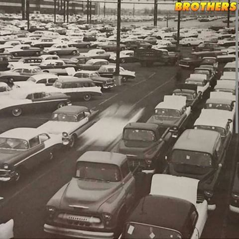 Cool vintage pic of what looks to be a storage lot for 1956 GM vehicles staging for transport. Could possibly be a rail yard. All that classic American iron waiting to be claimed by some lucky buyer.  #brotherstrucks #chevrolet #chevy #gmc #classic #vintage #classictruck #pickup #truck #3100 #taskforce #belair #nomad #1956 #trifive #tbt