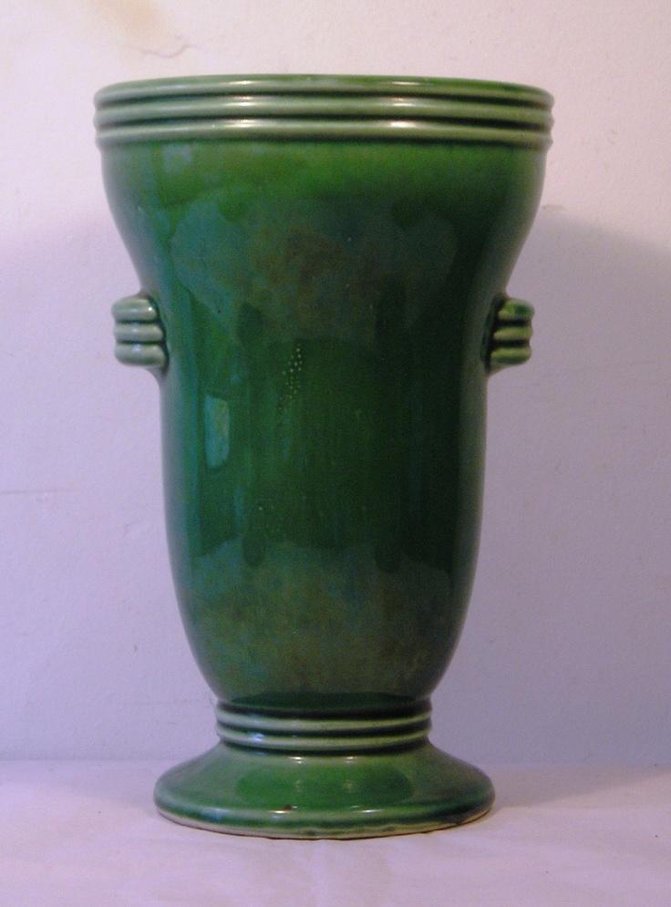 Beautiful Vintage Art Deco Mccoy Art Pottery Vase C14
