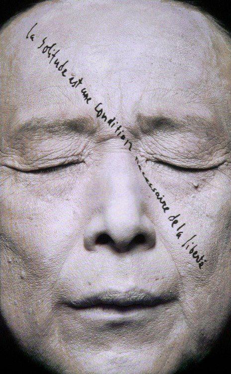 """GAO XINGJIAN PORTRAIT - french/chinese born writer & painter    """"la solitude est une condition nécessaire de la liberté"""""""