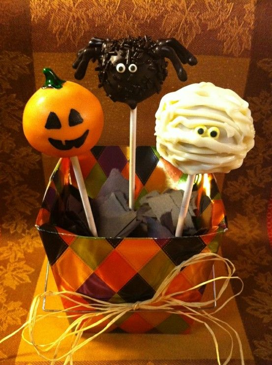 #Halloween #cake pops