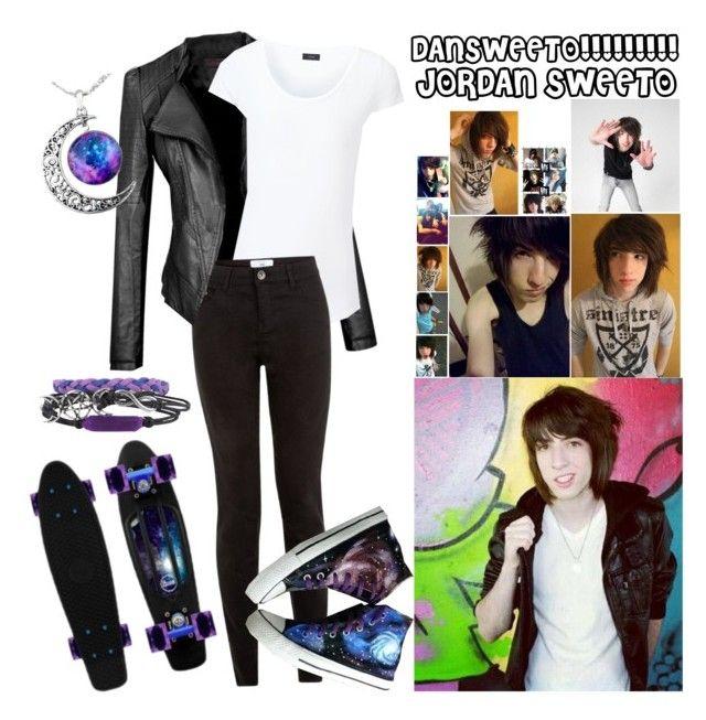 """Jordan Sweeto~Galaxy Style"" by electricbalancekilljoy ❤ liked on Polyvore featuring Diamond Supply Co., Joseph, HVBAO, women's clothing, women's fashion, women, female, woman, misses and juniors"