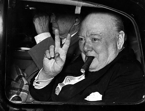 May 10th,1940: Churchill becomes Prime Minister of Britain.