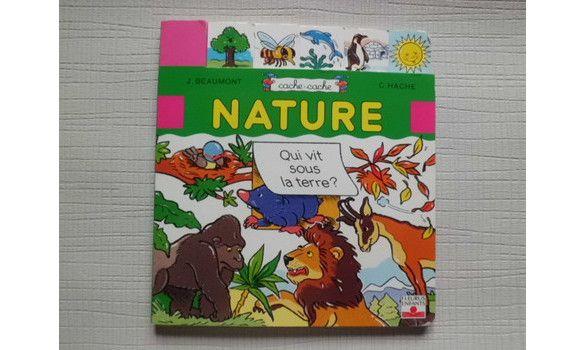 Nature-cache-cache- Fleurus enfants