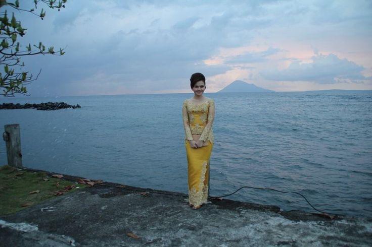 Kebaya#malalayang beach#manado tua island#