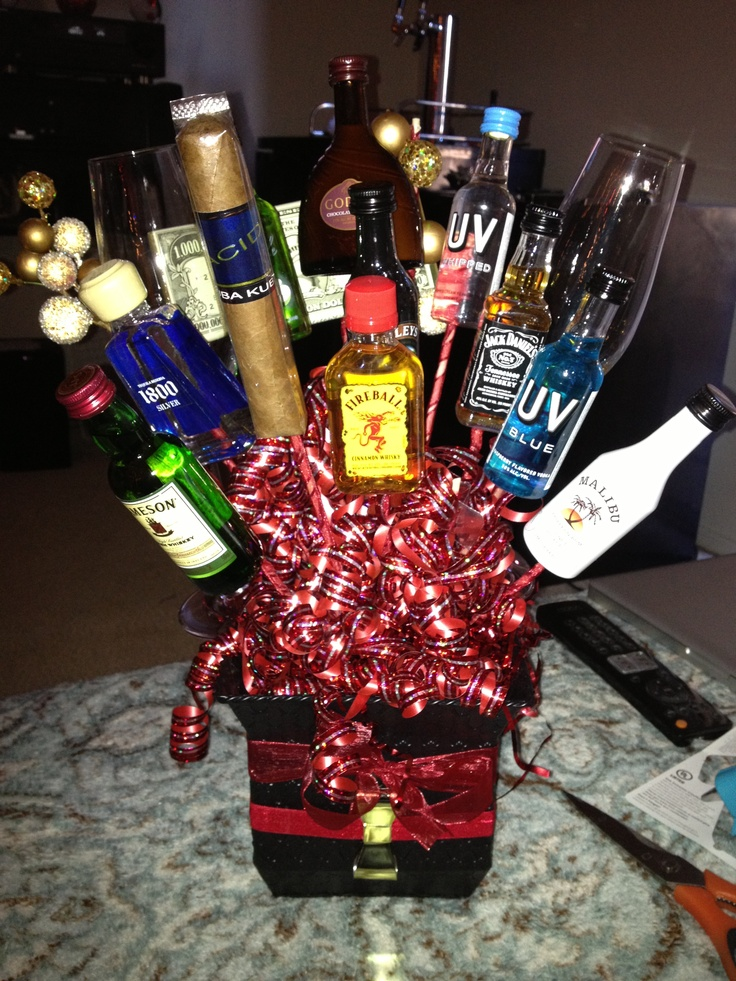 Perfect gift basket for the guy in your life :)