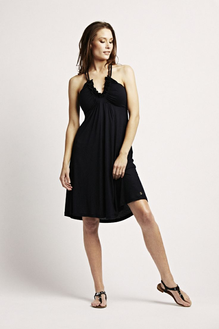 Florence Design strappy dress in navy! <3