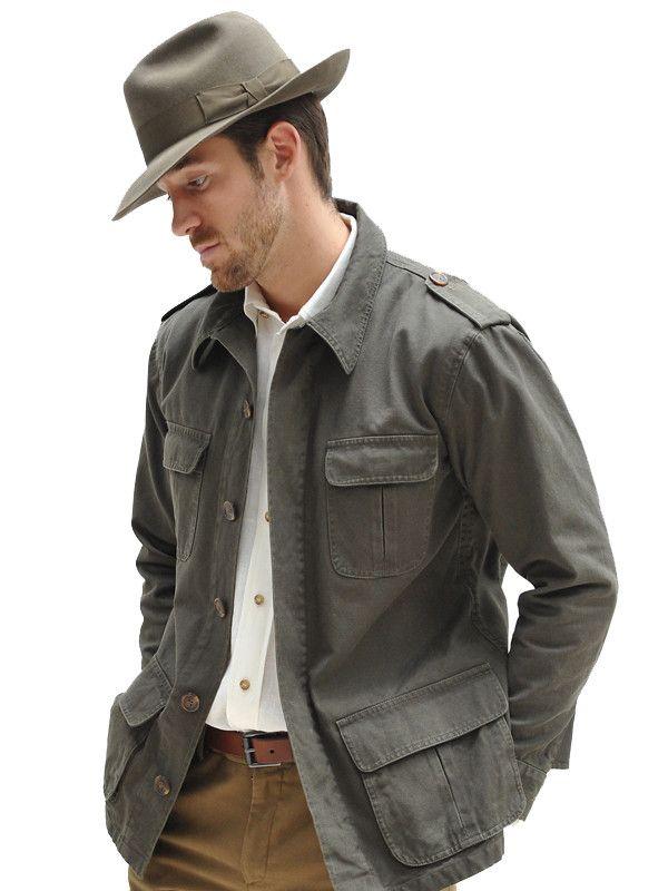 Cotton Canvas Bush Jacket http://geraldwebster.com/collections/mens-apparel/products/cotton-canvas-bush-jacket