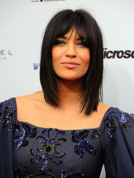shoulder length straight haircuts 134 best cheveux mi images on hair cut 2358 | 0105249f284c78e42d659363cd52a86b medium straight hairstyles medium length haircuts