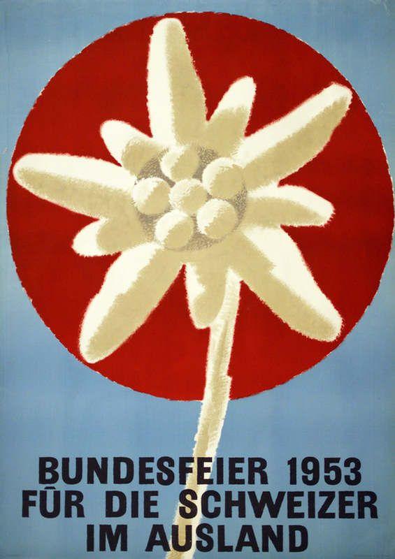 Bundesfeier 1953 für die Schweizer im Ausland