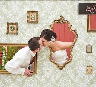 Cute Photo Booth Idea