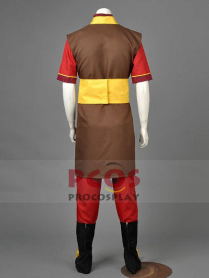 Avatar The Legend of Korra Zuko Outfit Cosplay Costume Custom Made