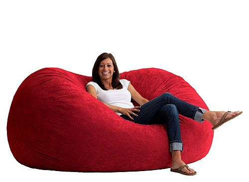 The Big Joe Fuf 6 Suede Bean Bag Is Made For Todays Living Rooms Bedrooms And Family Gone Are Days Of Flat Shapeless Bagsmdashthis
