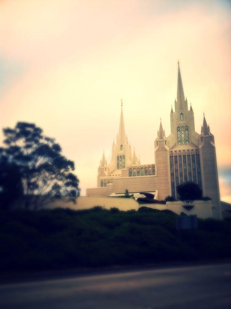 San Diego Temple ❤️ Mormon castle