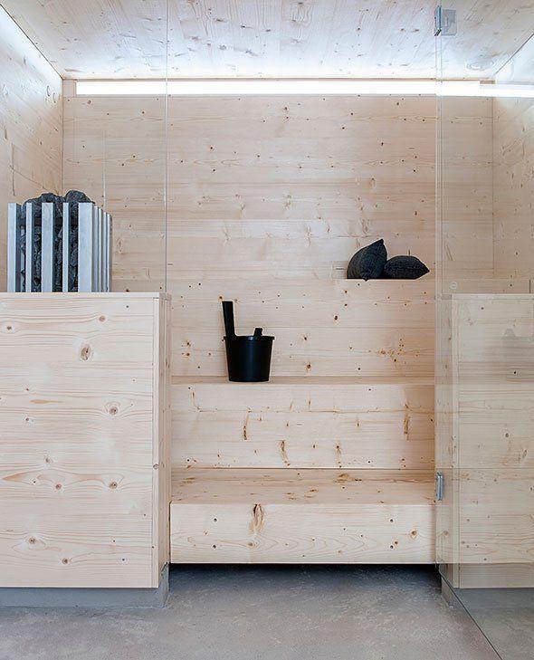 amazing sauna!