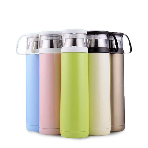 420ml Portable Insulated Vacuum Flask Stainless Steel ...