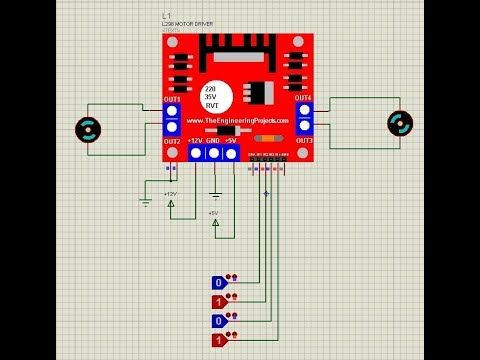 Today, I am going to share a new L298 Motor Driver Library for