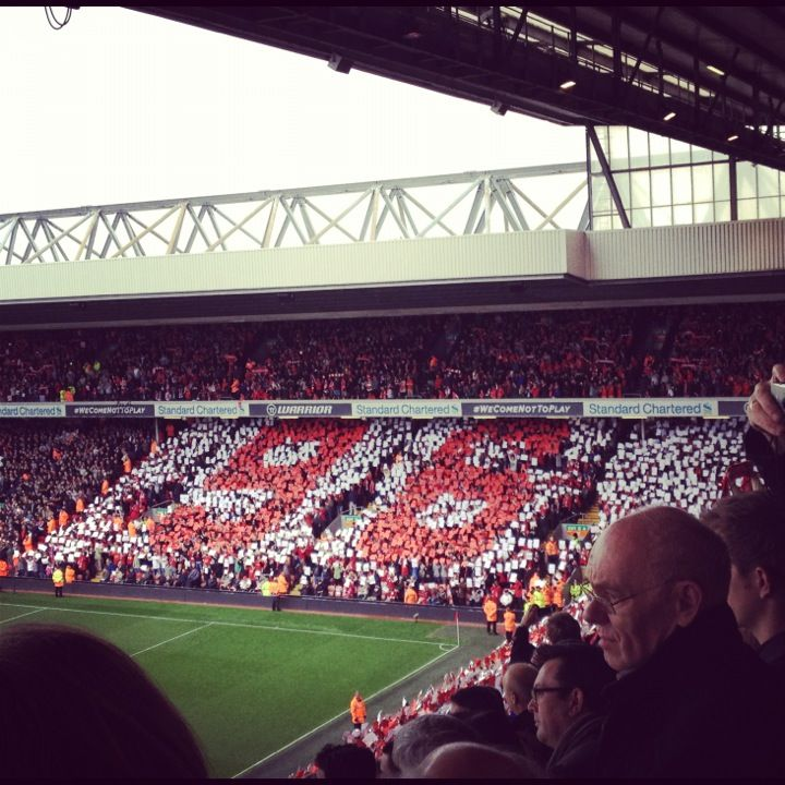 Anfield in Liverpool, Liverpool