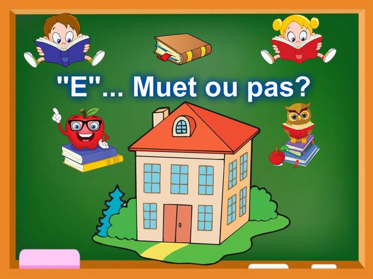 """Prononciation de """"E"""" muet. Présentation audio et exercice d'application"""