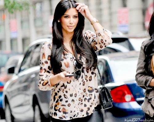 Kim K  This is a good picture of her.  She looks more natural