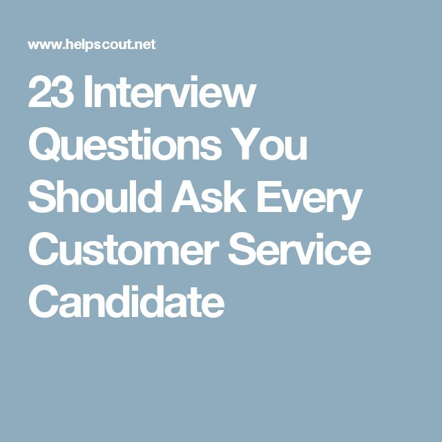 Best 25+ Customer service interview questions ideas on Pinterest - airport customer service agent sample resume