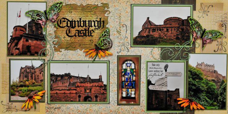 Edinburgh Castle, Scotland - Scrapjazz.com