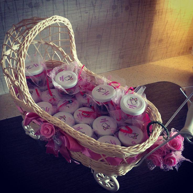 Bebekleriniz icin dogum gunu ve hosgeldin kavanozlari   #bebek #sekeri #bebeksekeri #babyshower #handmade #elvindesign